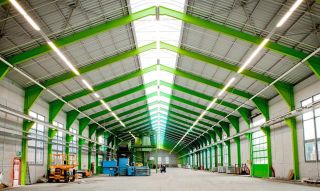 Kunststoffverarbeitungsanlage vogt-plastic GmbH Hallensanierung Architekturbüro Musahl