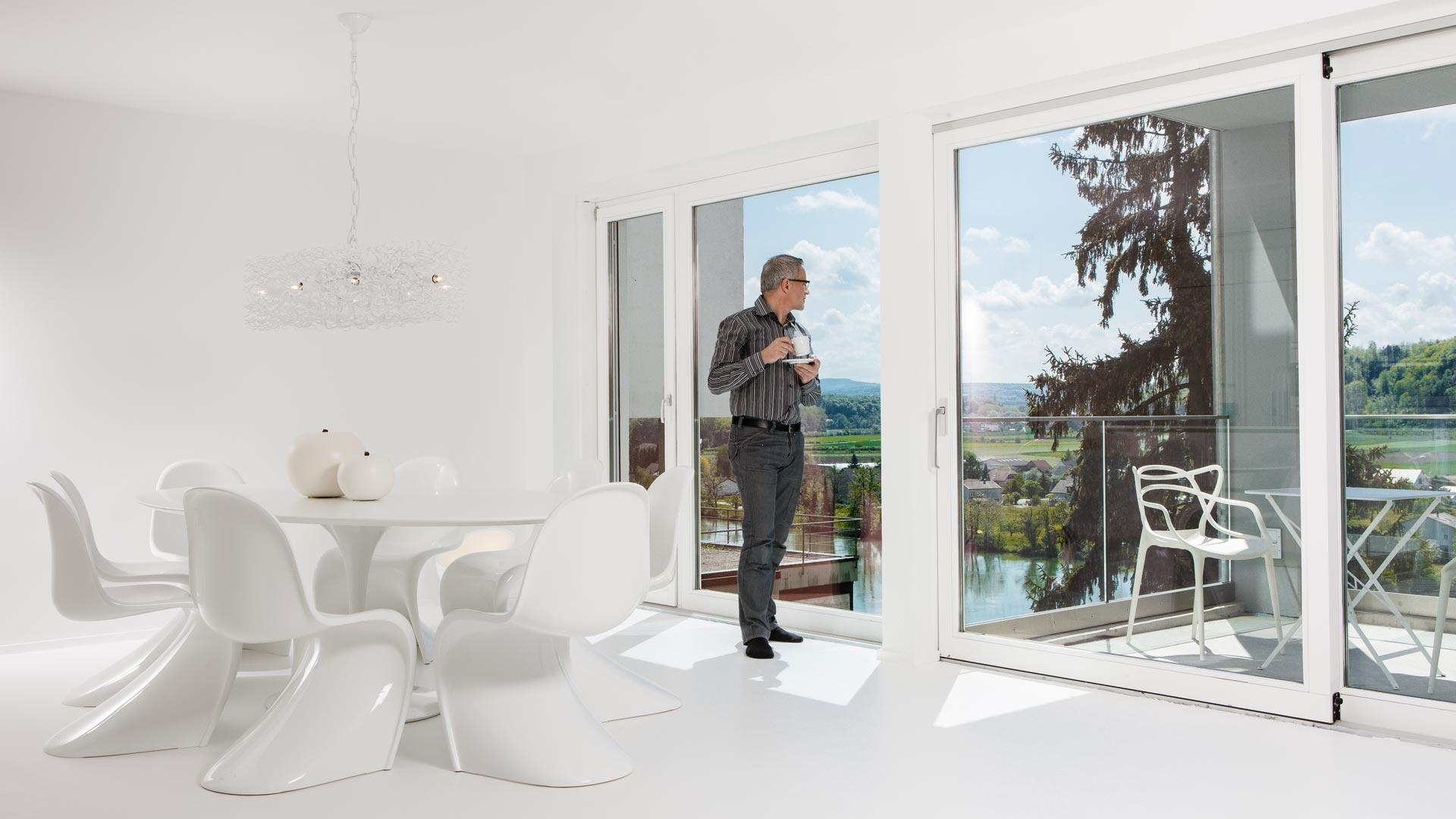 Architekturbüro Henning Musahl, Waldshut , Stadtwohnung, weise Wohnung, Altstadtwohnung, Rheinstrasse