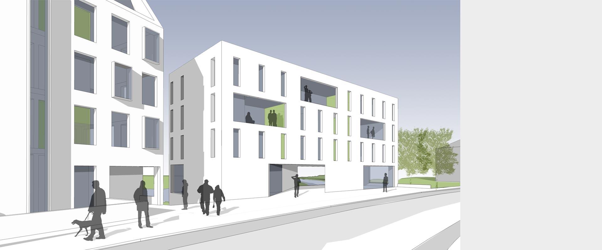 Architekturbüro Henning Musahl Waldshut Rheinschloss Wettbewerb