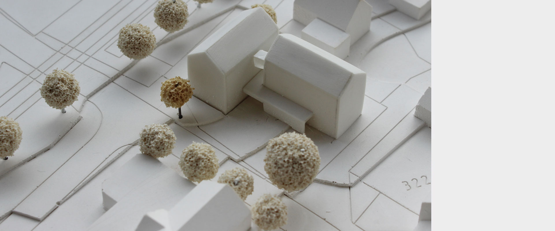 Architekturbüro musahl Waldshut Rathaus Dogern Modell