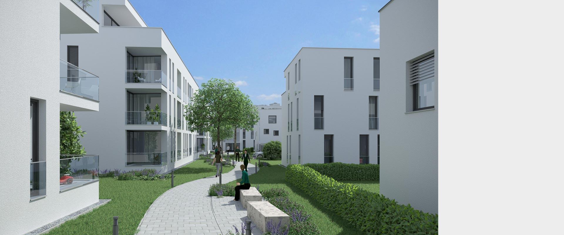Architekturbüro Musahl Waldshut Wohnanlage Riedpark in Lauchringen