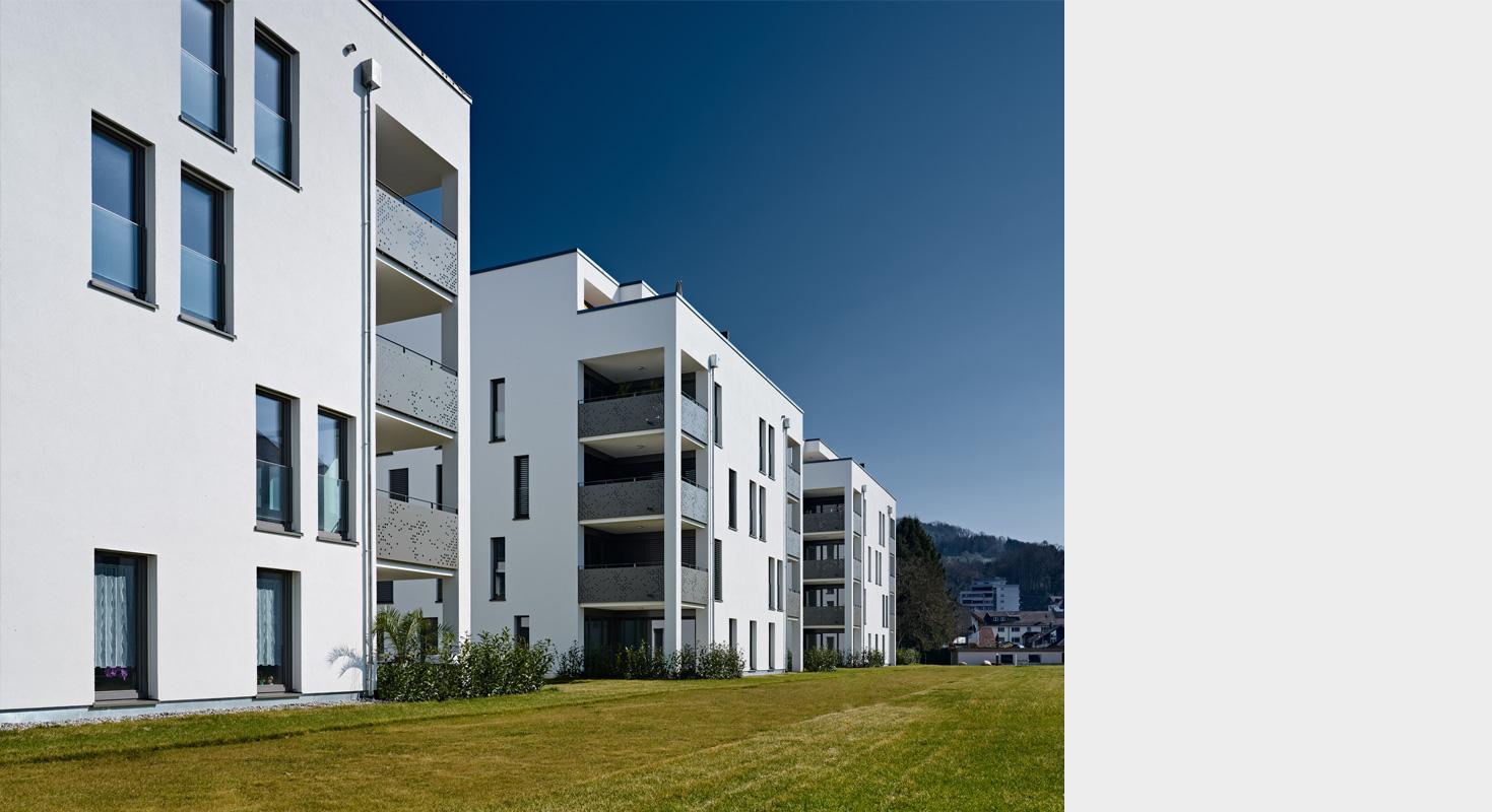 Architekturbuero Henning Architekt Musahl Waldshut Tiengen Wohnanlage Kadelburg