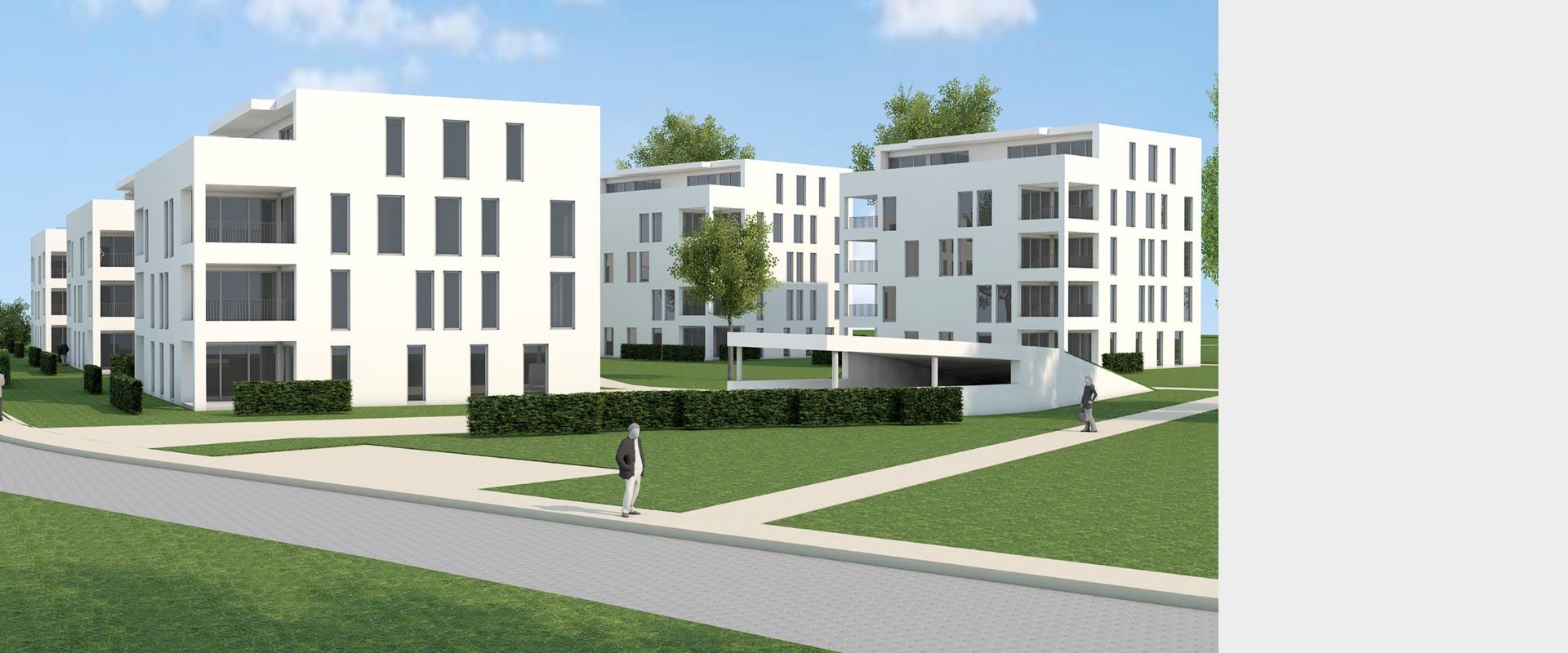 Architekturbüro Musahl Waldshut Wohnanlage Neunschwanz in Kadelburg