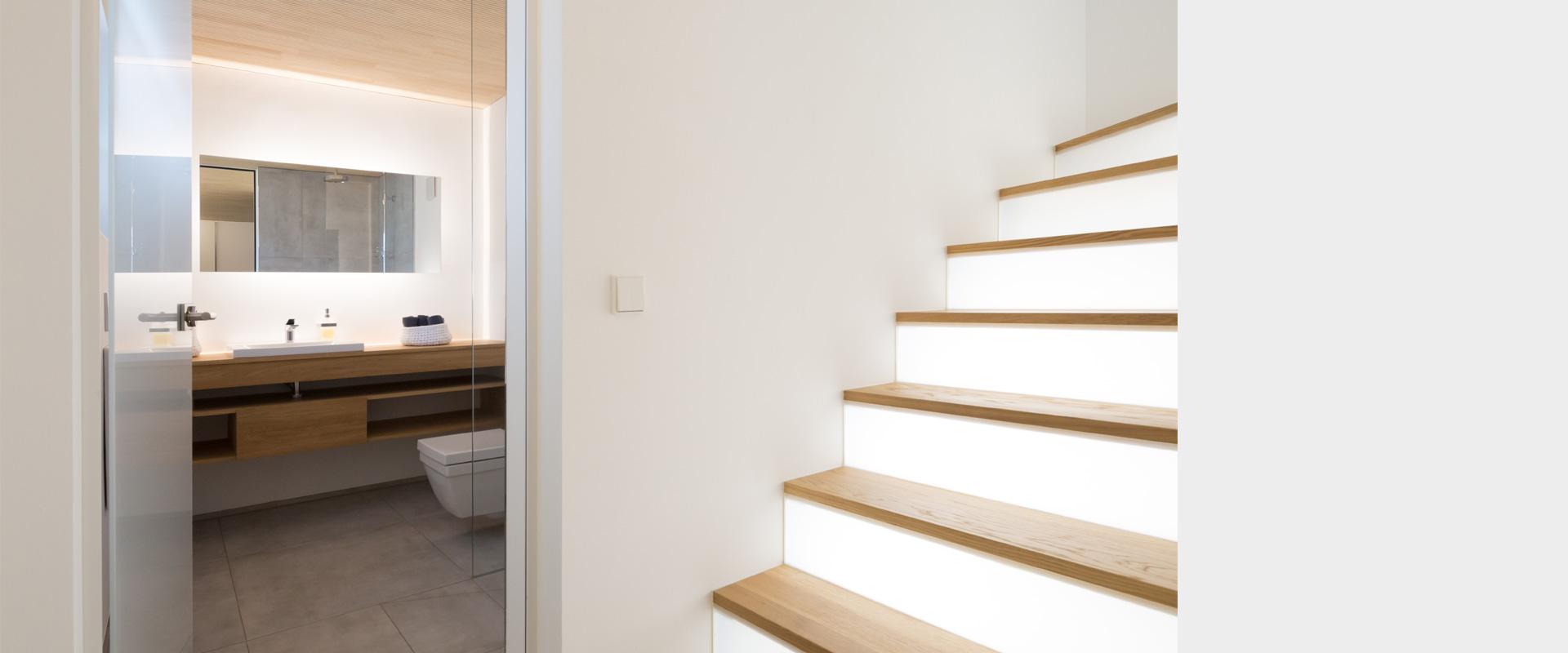Architekturbüro musahl Waldshut Wohnhaus S. in Oberweschnegg Gästebad