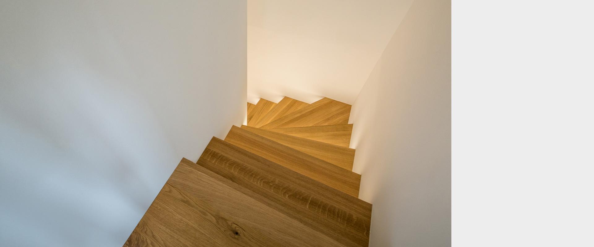 Architekturbüro musahl Waldshut Wohnhaus S. in Oberweschnegg Detail Treppe