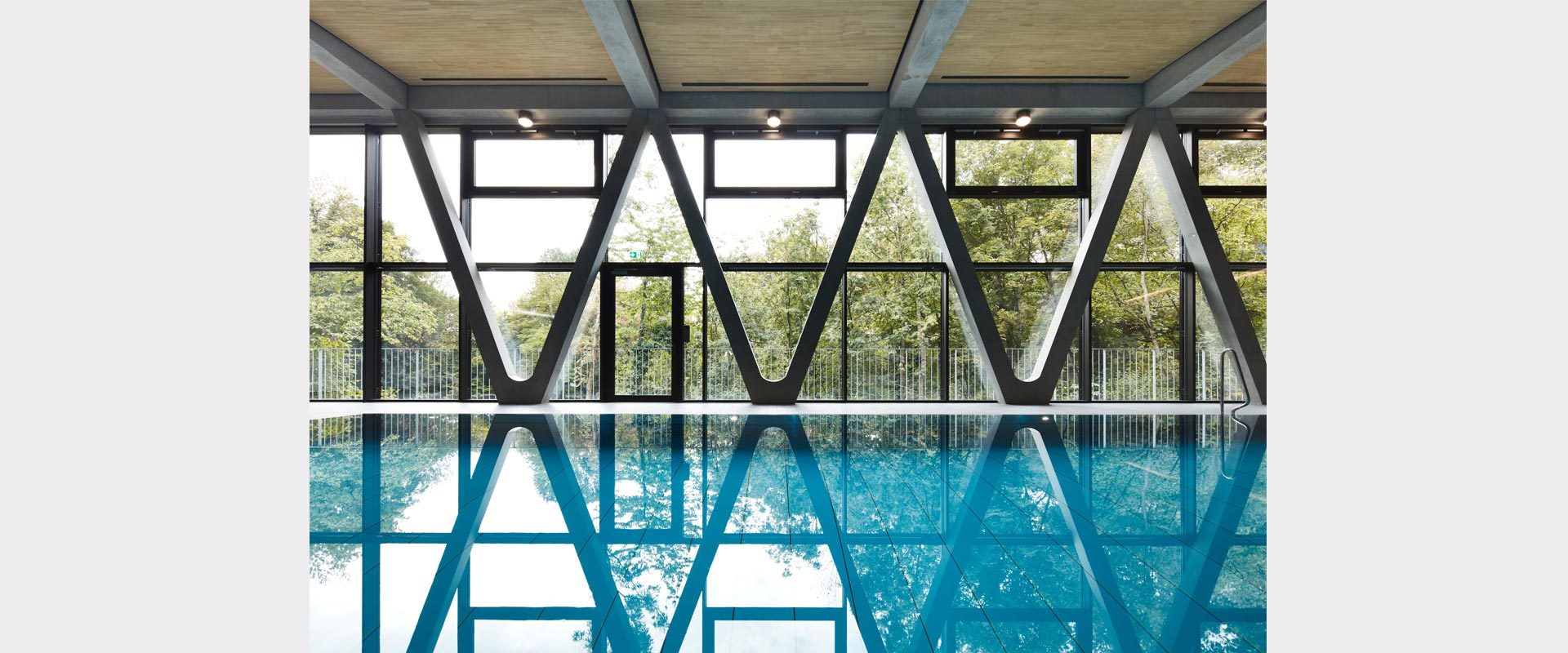 rchitekturbuero Henning Architekt Musahl Waldshut Tiengen Oberrhein Stadthalle Hallenbad