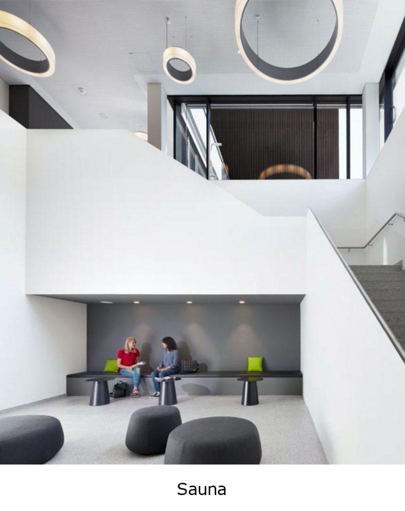 Henning Musahl Architektur Waldshut Stadthalle Waldshut-Tiengen Sauna